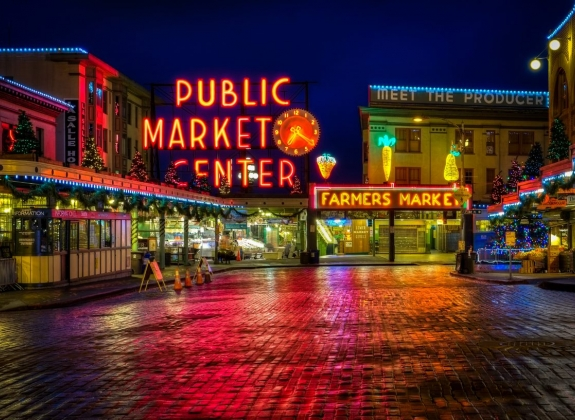 Public Fish Market in Seattle