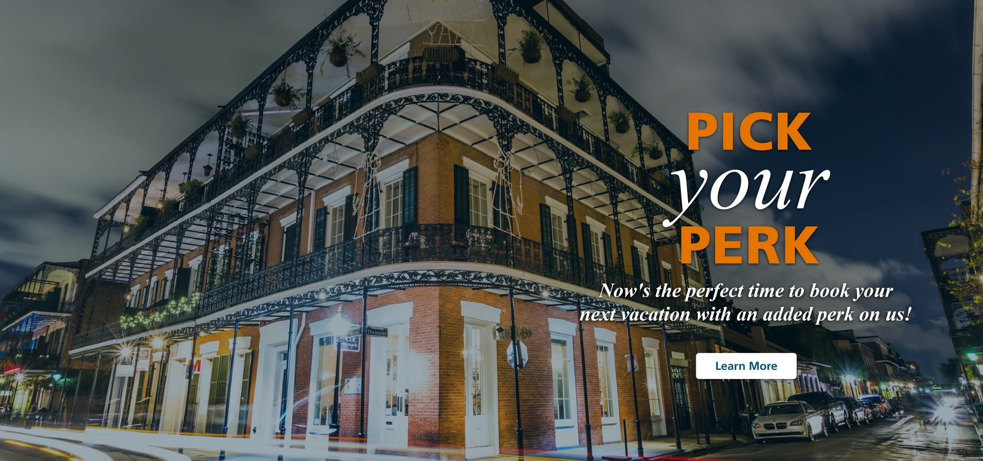 pick your perk by upgrading on amtrak in new orleans