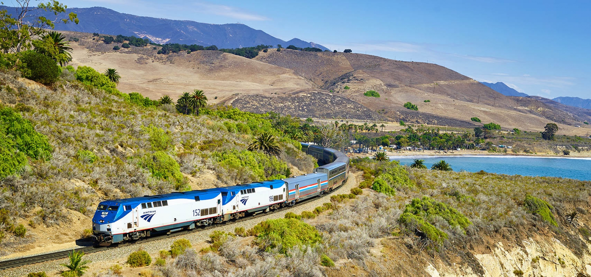 Amtrak's Coast Starlight on a Coast-to-coast journey