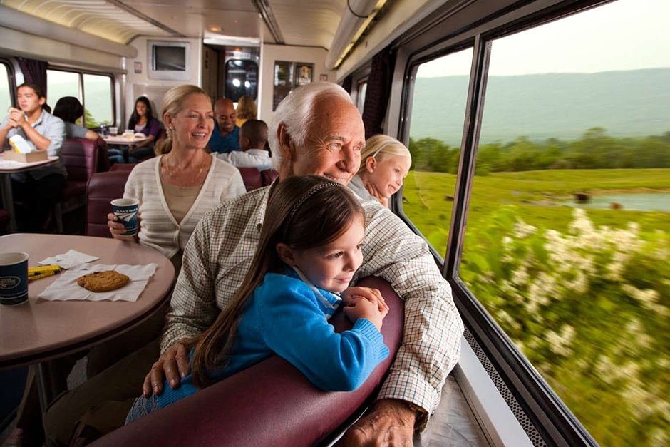 5 of the Best Train Vacations for Multigenerational Travelers