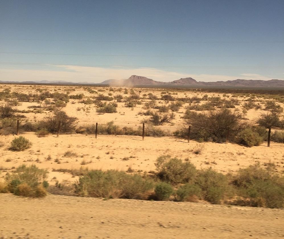 Arizona, New Mexico Onboard Train