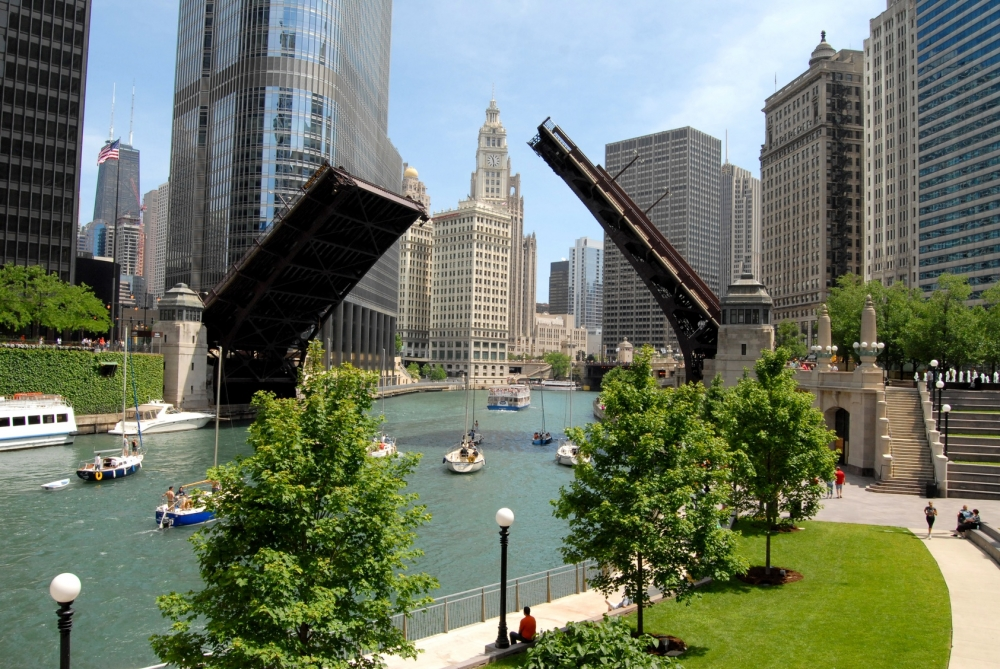 Chicago River, Downtown Chicago