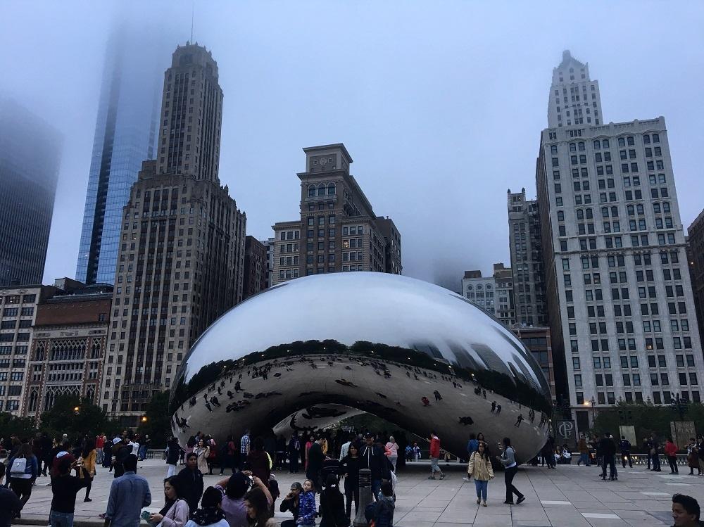 Chicago Bean - City Skyline
