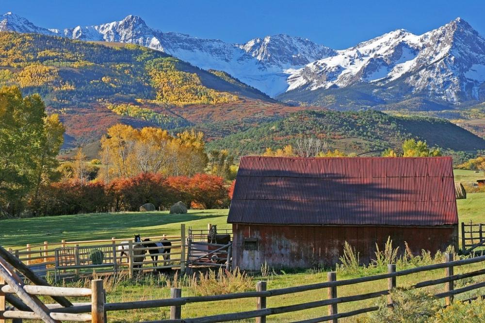 Rocky Mountains in Denver