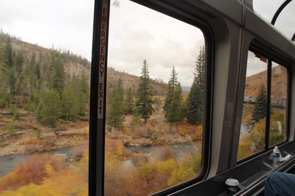 colorado scenery onboard the california zephyr