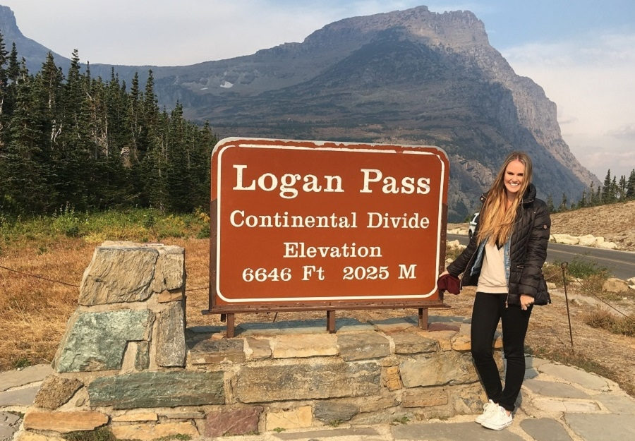Logan Pass in Glacier National Park_Kaitlyn