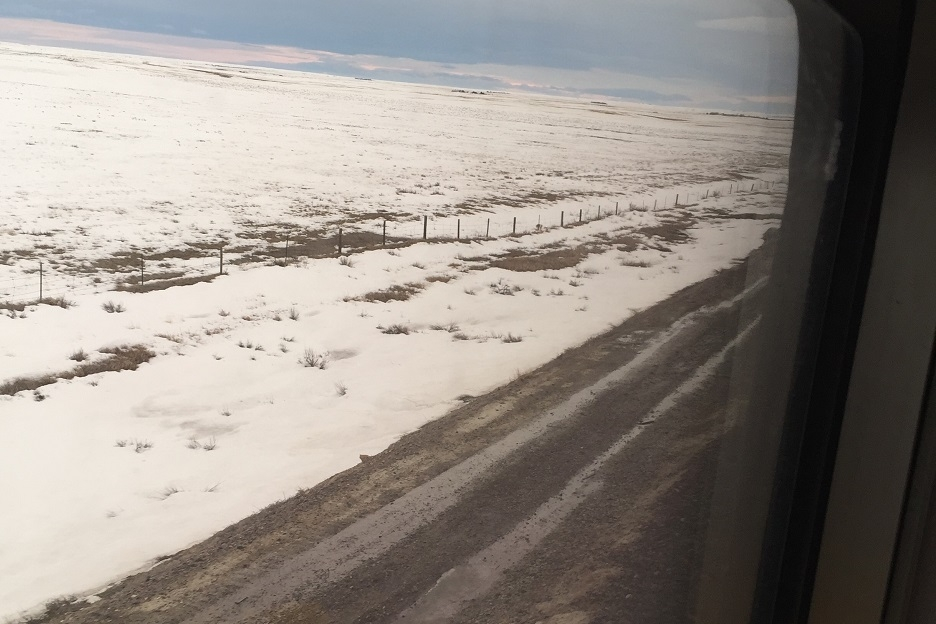 Montana Landscapes Onboard Train