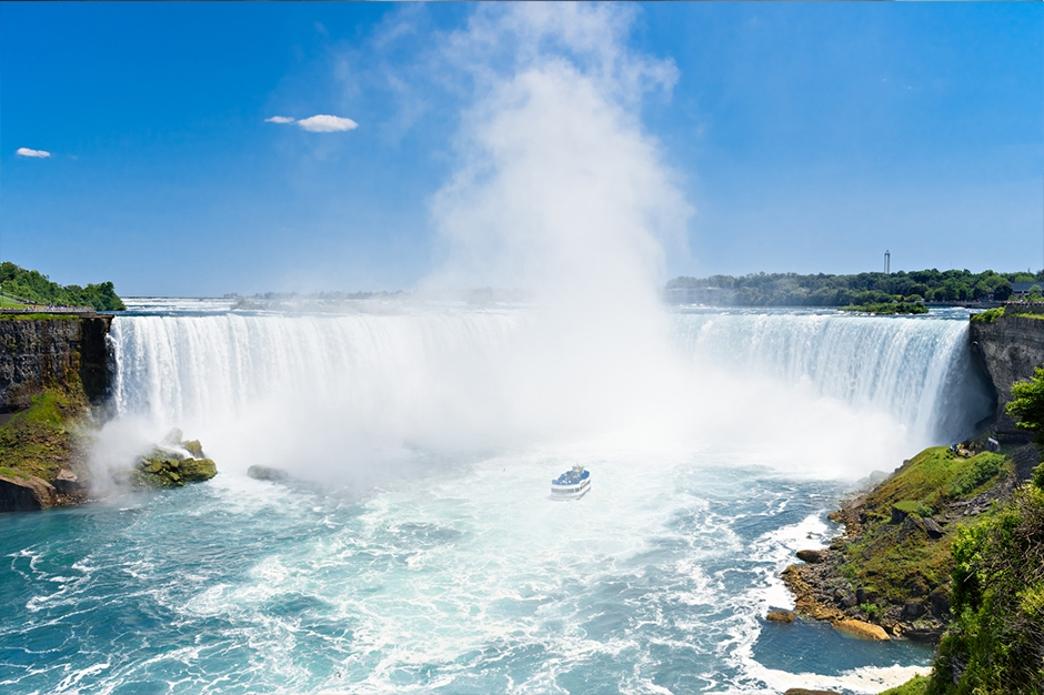 Mist over Niagara Falls