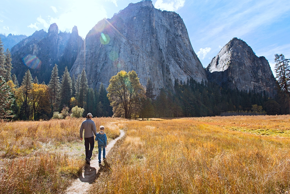 Grand National Parks with Yellowstone, Yosemite and the Grand Canyon