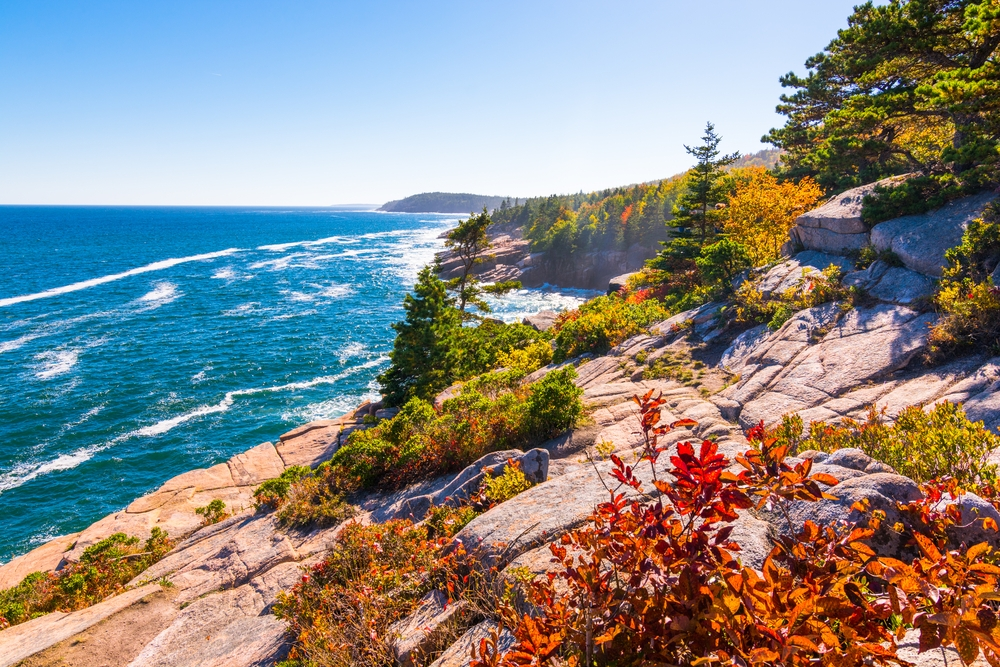 Acadia National Park by the sea