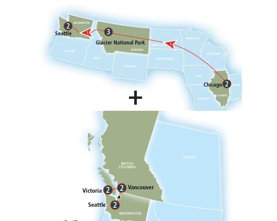 Combine Itineraries - Customize
